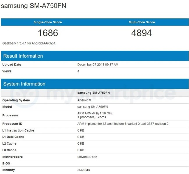 Samsung-Galaxy-A7-2018-with-android-pie-in-Geekbench.jpg