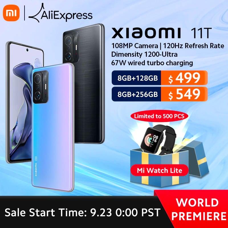 Успей получить подарки при заказе Xiaomi 11T Pro и Xiaomi Pad 5 на AliExpress по специальным ценам-2