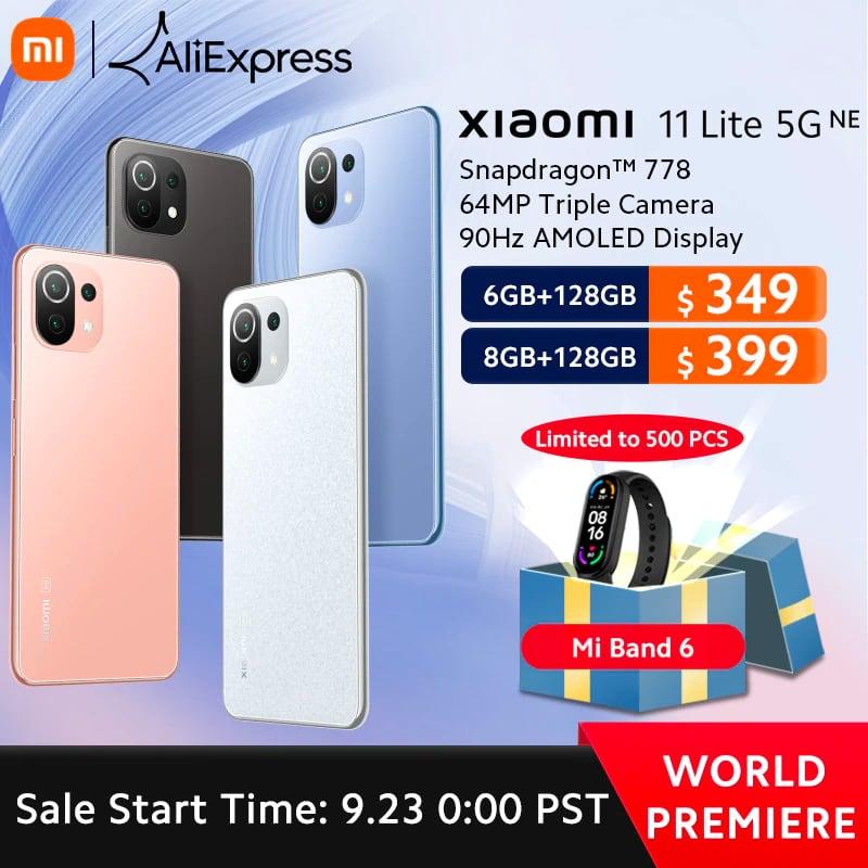 Успей получить подарки при заказе Xiaomi 11T Pro и Xiaomi Pad 5 на AliExpress по специальным ценам-3
