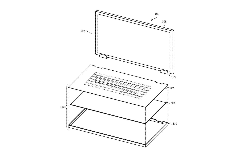 Apple запатентовала стеклянную сенсорную клавиатуру