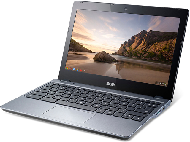 11.6-дюймовый хромбук Acer C720 Chromebook на Intel Haswell за $250