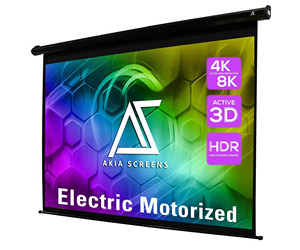 Akia Screens Electric Motorized Projector Screen review