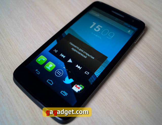 Обзор Alcatel One Touch Scribe HD-6