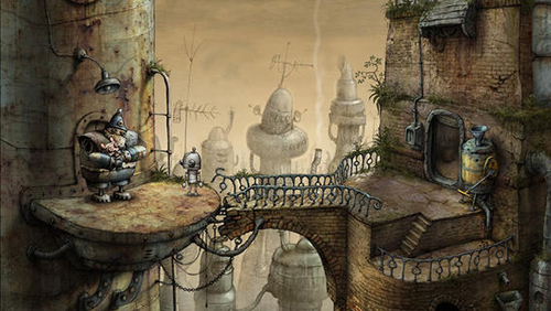 Приложение Дня для iOS: Machinarium Pocket Edition-5