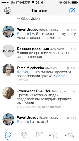 Приложение Дня для iOS: Tweetbot 3.0-6