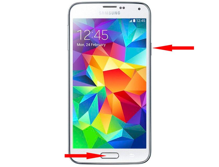 Как сделать скриншот на телефоне самсунг 864