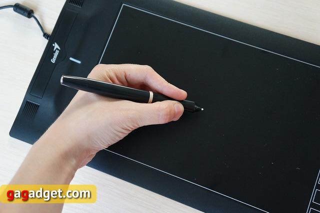 Обзор графического планшета Genius EasyPen F610E