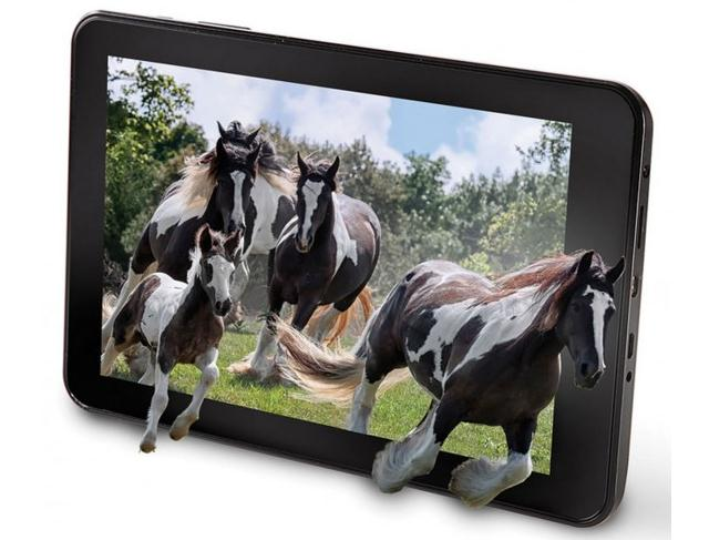 8-дюймовый планшет Hammacher Schlemmer The No Glasses 3D Tablet с 3D-изображением без очков