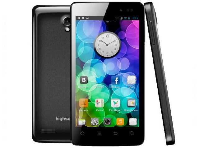 Смартфон Highscreen Omega Q с  4.5-дюймовым IPS-дисплеем 960х540