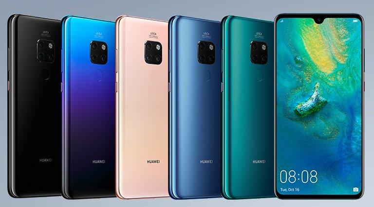 Huawei Mate 20 и Mate 20 Pro с тройными камерами