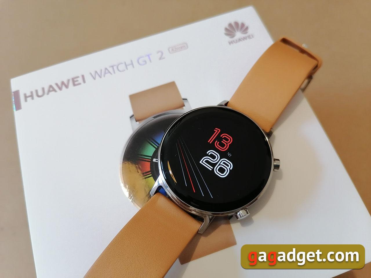 Гений чистой красоты: обзор часов Huawei Watch GT2 Classic 42 мм