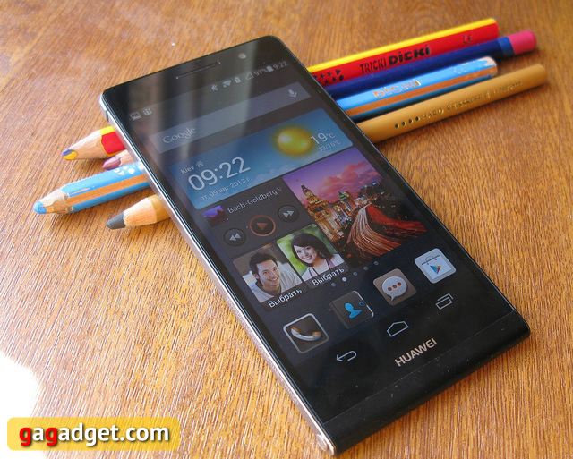 Обзор Huawei Ascend P6-16