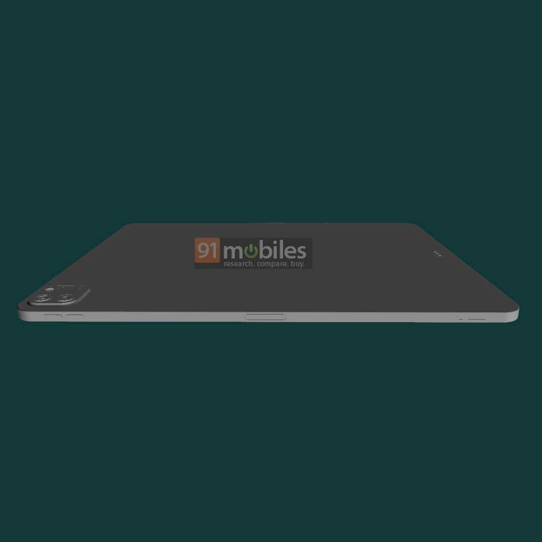 iPad Pro 2021 появился на CAD-рендерах с 12.9-дюймовым ...
