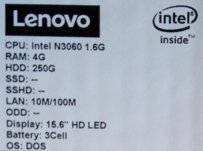 Обзор ультрабюджетного ноутбука Lenovo IdeaPad 110-15IBR (80T7004TRA)