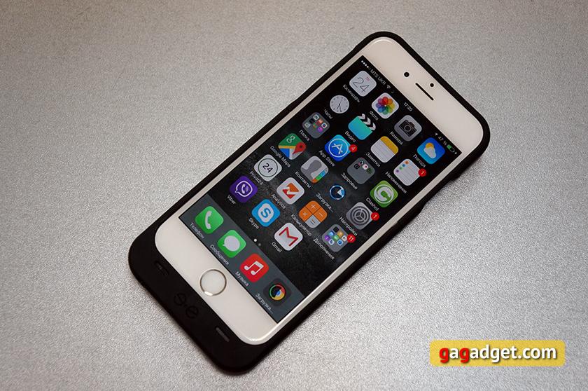 Обзор чехла-аккумулятора Mobee Magic Case 6 с беспроводной зарядкой для iPhone 6