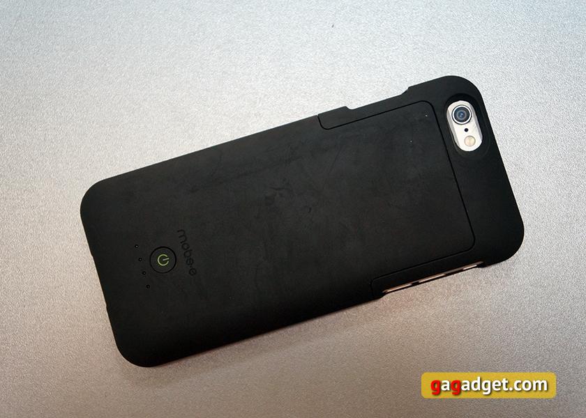 Обзор чехла-аккумулятора Mobee Magic Case 6 с беспроводной зарядкой для iPhone 6-4