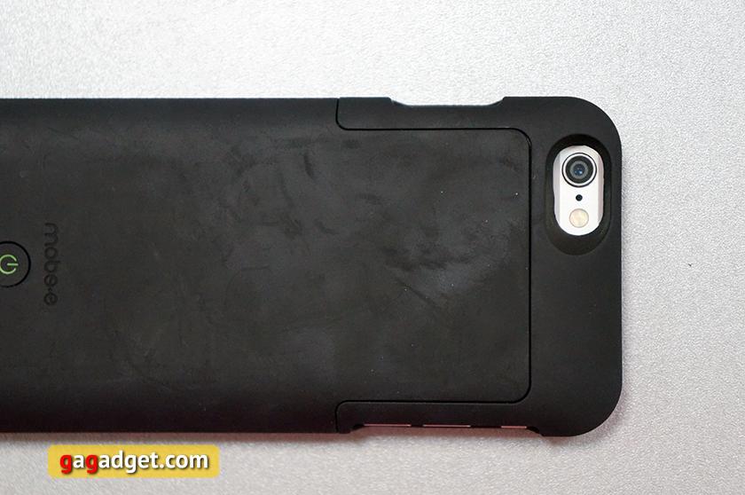 Обзор чехла-аккумулятора Mobee Magic Case 6 с беспроводной зарядкой для iPhone 6-5