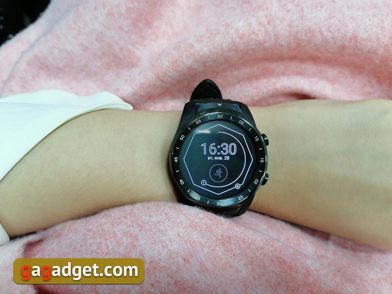 Обзор MOBVOI TicWatch Pro: смарт-часы на WearOS
