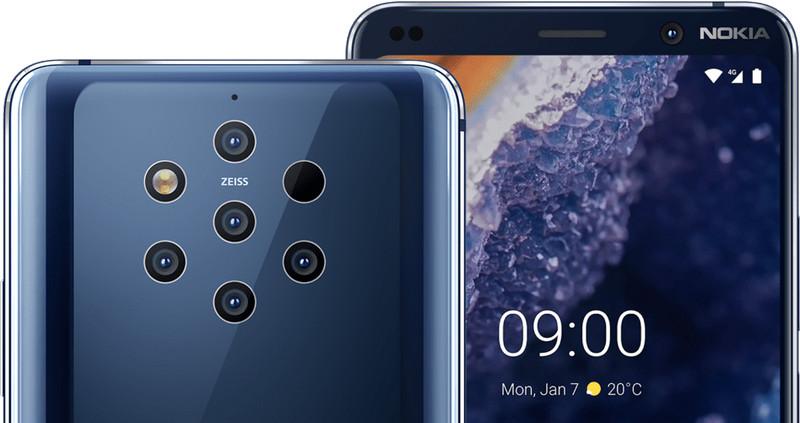 Анонс Nokia 9 PureView: пятикамерный мастер вычислительной фотографии-3