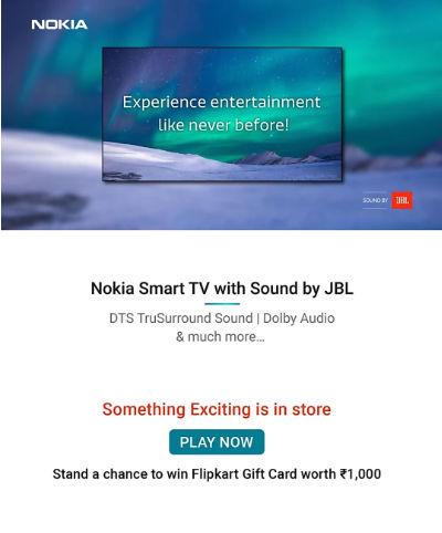 Первый смарт-телевизор Nokia с 55-дюймовым экраном и Android TV на борту дебютирует 5 декабря