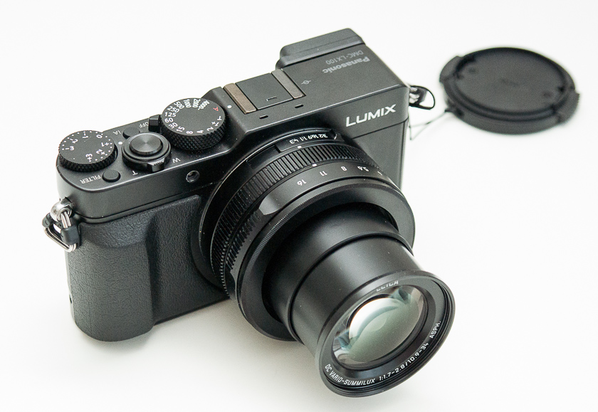 Обзор цифрового фотоаппарата Panasonic Lumix DMC-LX100-3