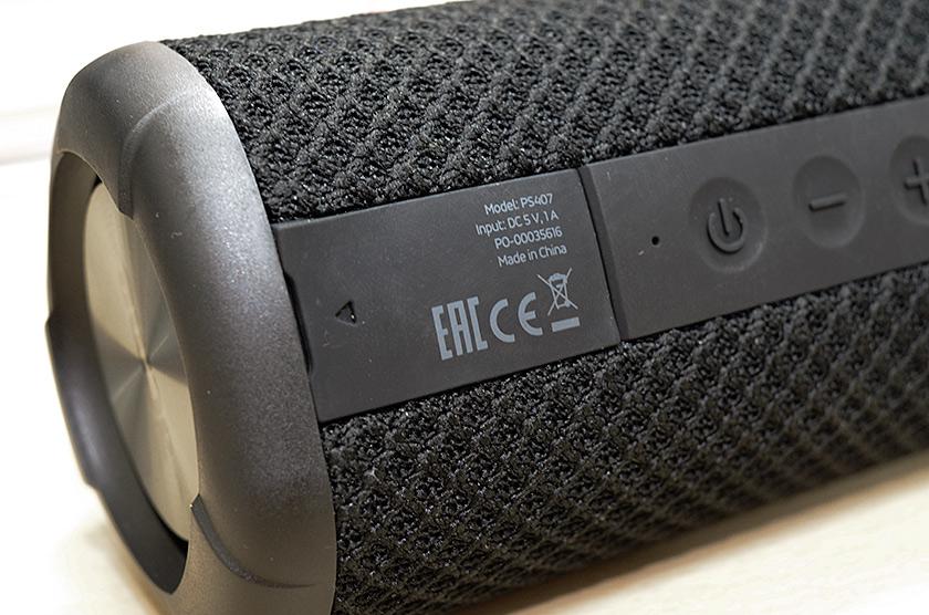 Обзор портативной акустики ACME PS407 с защитой IPX7-6