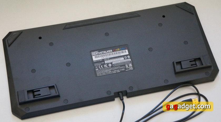 Обзор мембранной игровой клавиатуры Razer Deathstalker Chroma-7