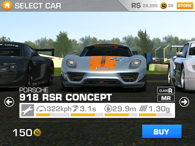 Игры для iPad: Real Racing 3-6