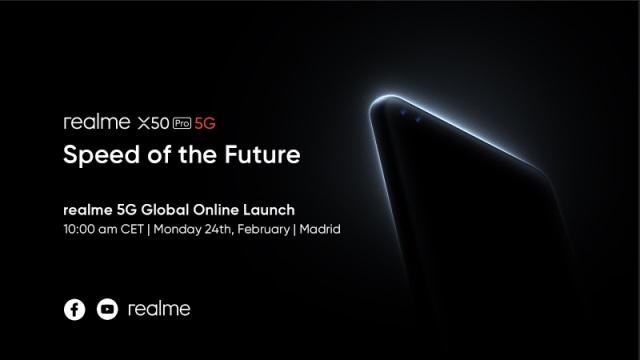 Realme также проведет свою презентацию онлайн