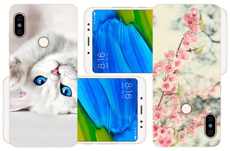 Милый чехол для Xiaomi Redmi Note 5 на алиэкспресс