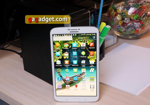 Обзор планшета Samsung Galaxy Tab 3 8.0 -10