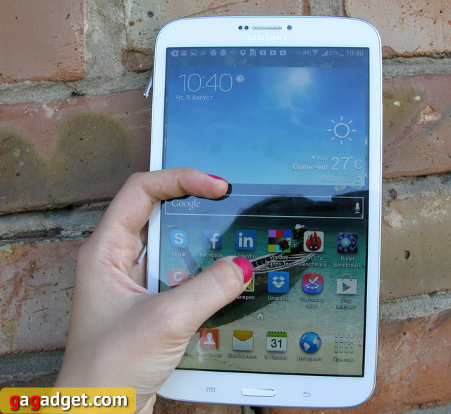 Обзор планшета Samsung Galaxy Tab 3 8.0 -12