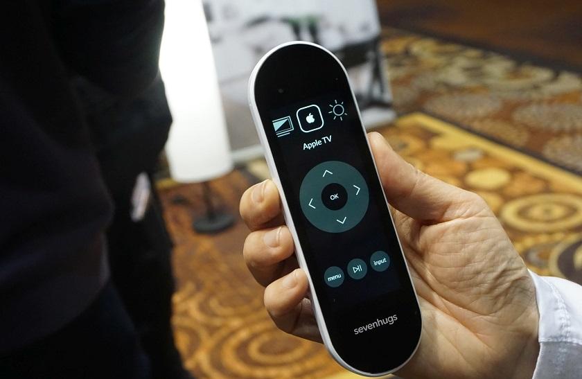 CES 2017: пульт Sevenhugs Smart Remote управляет 25 тысячами устройств