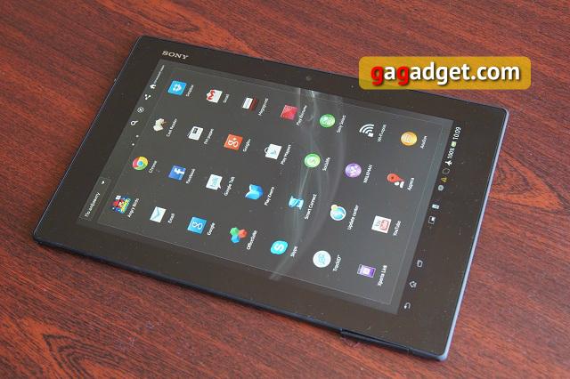 Обзор Sony Xperia Tablet Z: mon cher