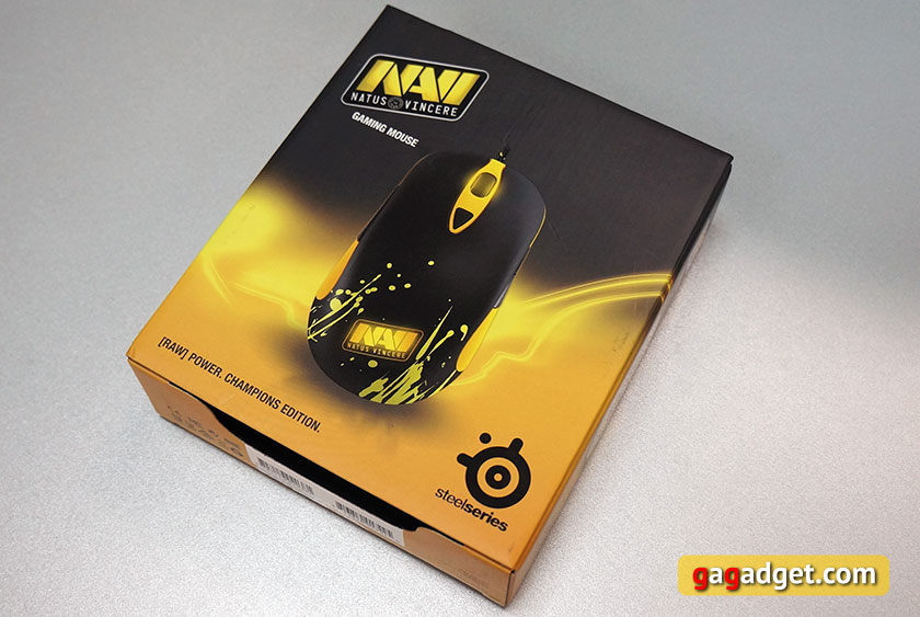 Обзор игровой мышки SteelSeries Sensei RAW Na`Vi Edition-2