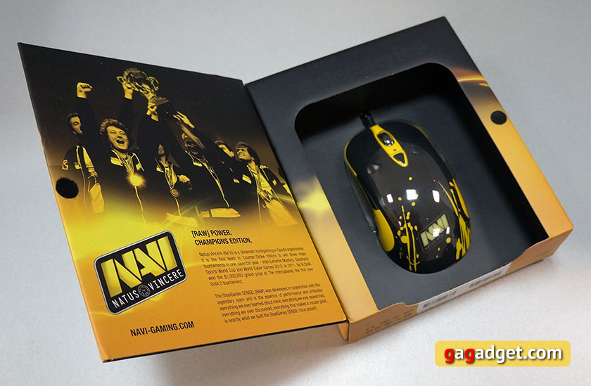 Обзор игровой мышки SteelSeries Sensei RAW Na`Vi Edition-3