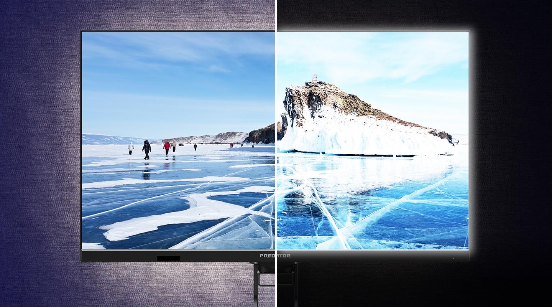 Какой монитор лучше для глаз: разбираемся с технологиями защиты зрения Acer-8