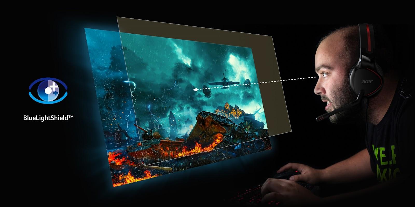 Какой монитор лучше для глаз: разбираемся с технологиями защиты зрения Acer-4
