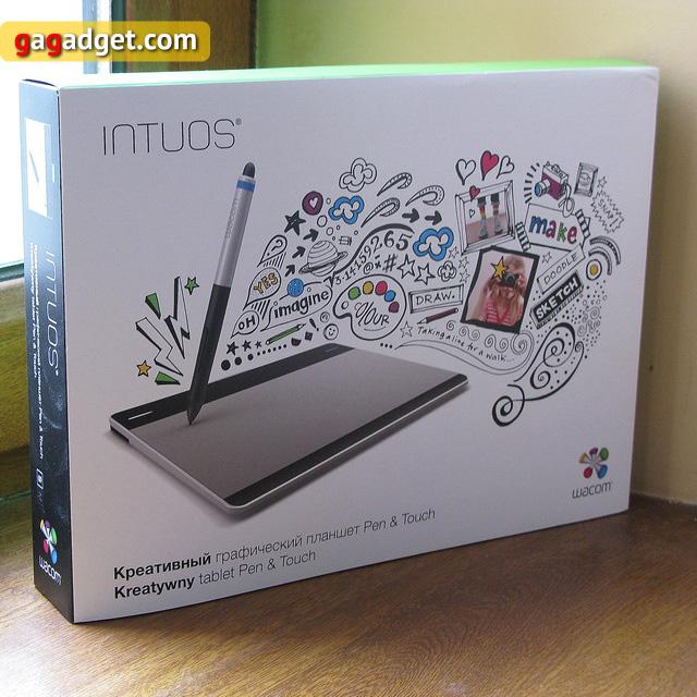 Обзор графического планшета Wacom Intuos Pen&Touch S (CTH-480S-RUPL