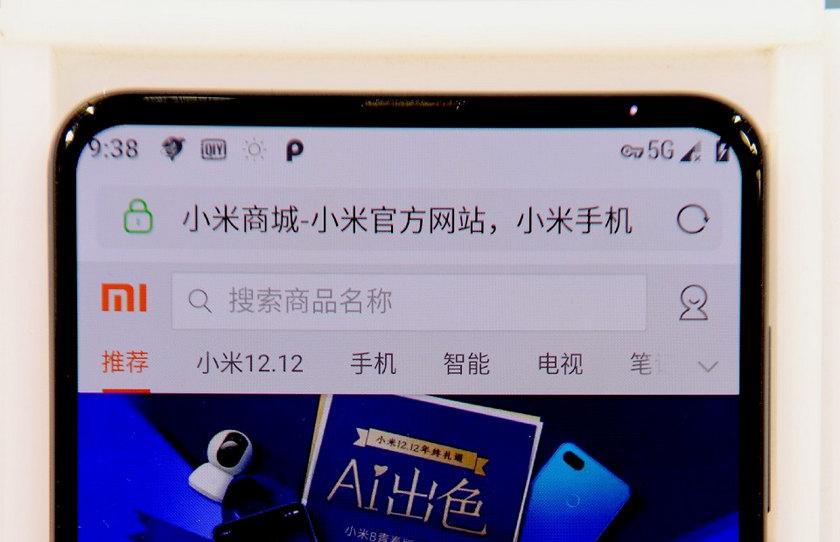 Xiaomi показала 5G-версию безрамочника Mi Mix 3 на Snapdragon 855-2